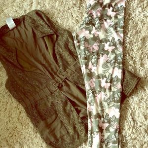 Other - LAST CALL Girls 8-10 vest and leggings